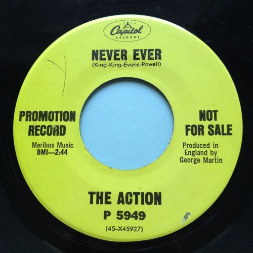 Action - Never Ever - Capitol promo - Ex-