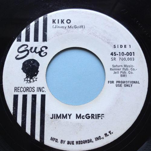 Jimmy McGriff - Kiko - Sue promo - Ex-