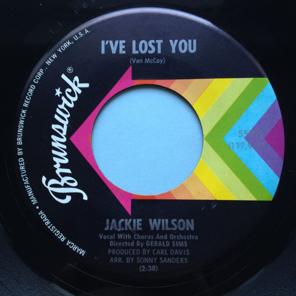 Jackie Wilson - I've lost you - Brunswick - Ex