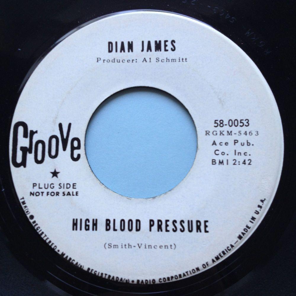 Dian James - High Blood Pressure - Groove promo - Ex