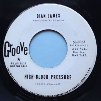 Dian James - High Blood Pressure - Groove promo - Ex