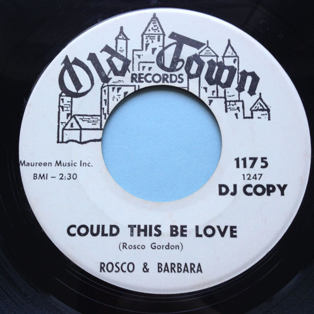 Rosco & Barbara - Could this be love - Old Town - Ex