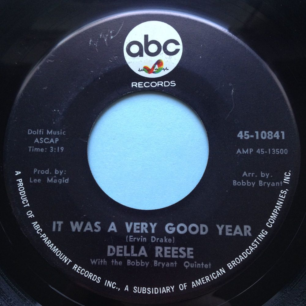 Della Reese - It was a very good year - ABC - Ex-