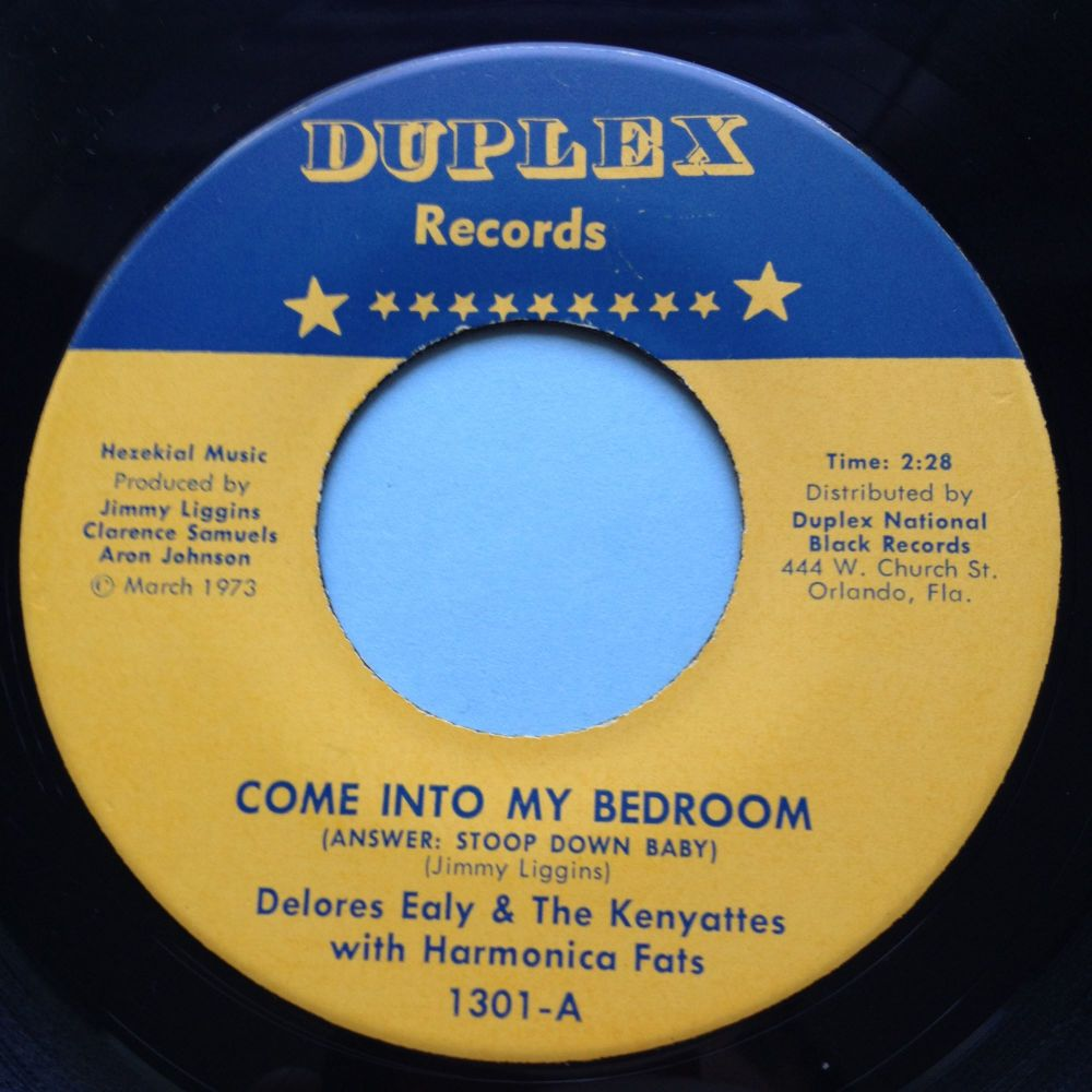 Delores Ealy - Come into my bedroon - Duplex - Ex (slight dish nap)