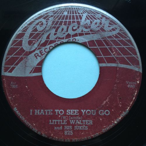 Little Walter - I hate to see you go b/w