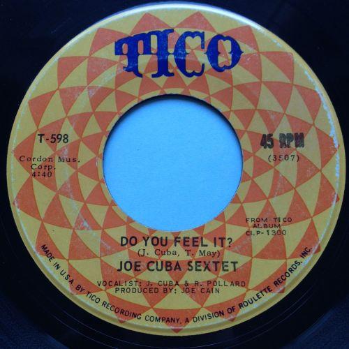Joe Cuba Sextet - What a baby b/w Do you feel it - Tico - Ex-