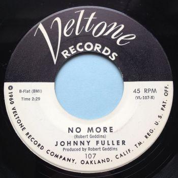 Johnny Fuller - No more - Veltone - Ex