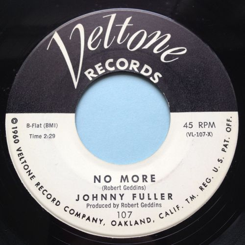 Johnny Fuller - No more - Veltone - Ex