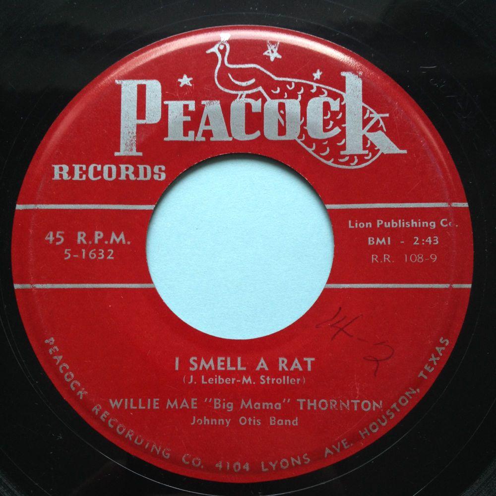 Willie Mae Thornton - I smell a rat - Peacock - Ex-