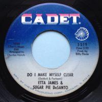 Etta James & Sugar Pie DeSanto - Do I make myself clear - Checker - Ex