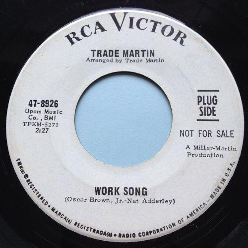 Trade Martin - Work Song - RCA promo - VG+