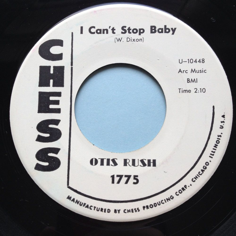 Otis Rush - You know my love b/w I can't stop baby - Chess promo - Ex