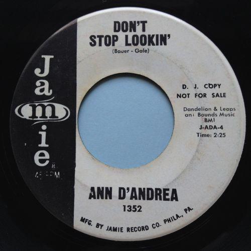 Ann Da'Andrea - Don't stop lookin' - Jamie promo - Ex-