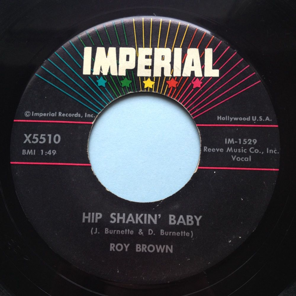 Roy Brown - Hip Shakin' Baby - Imperial - Ex-
