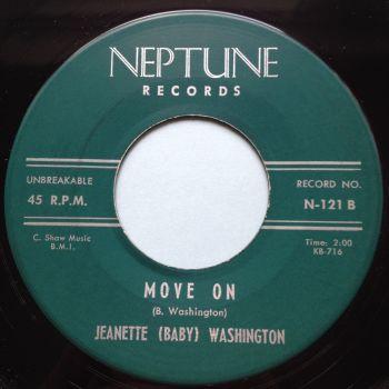 Jeanette Baby Washington - Move on - Neptune - Ex