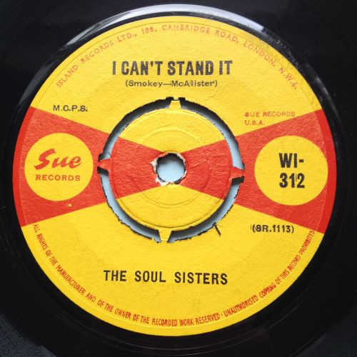 Soul Sisters - I can't stand it - U.K. Sue - Ex