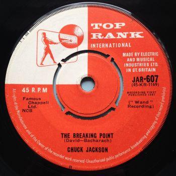 Chuck Jackson - The Breaking Point - U.K. Top Rank - Ex