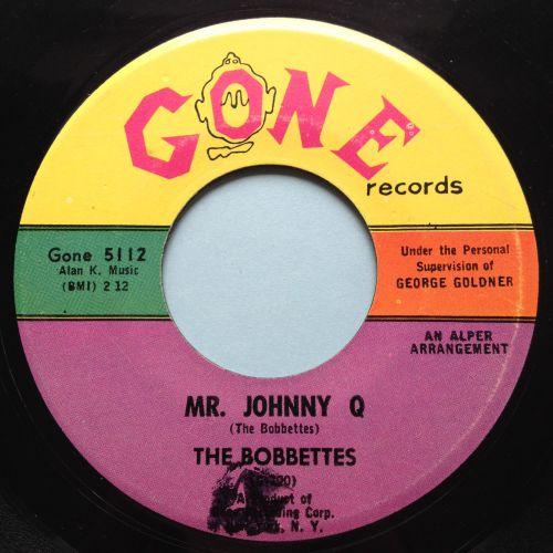 Bobbettes - Mr. Johnny Q - Gone - Ex-