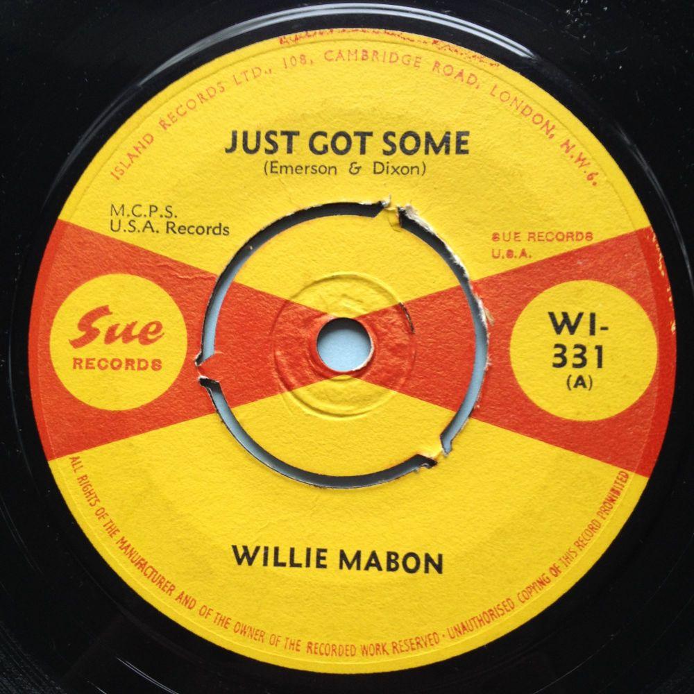 Willie Mabon - Just got some - U.K. Sue - Ex