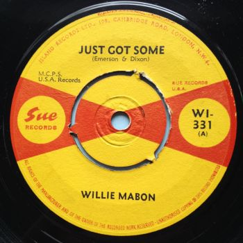 Willie Mabon - Just got some - U.K. Sue - Ex