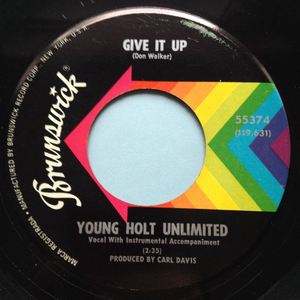 Young Holt Unlimited - Give it up - Brunswick - Ex