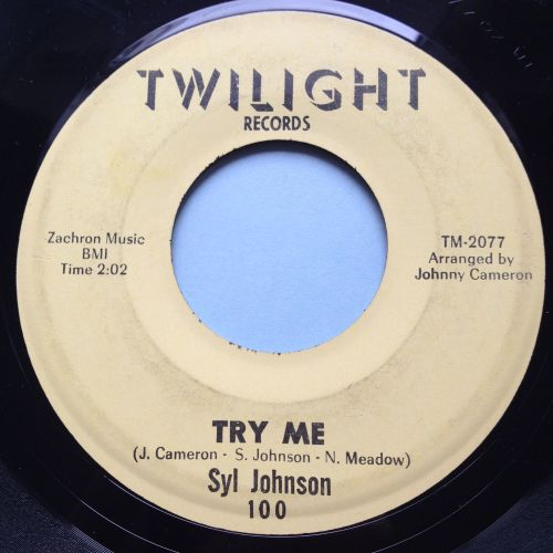 Syl Johnson - Try me - Twilight - Ex-