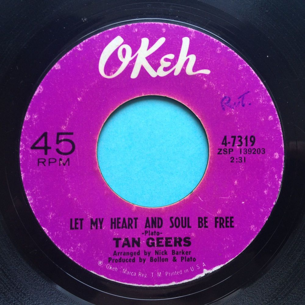 Tan Geers - let my heart and soul be free / What's the use of me trying - O