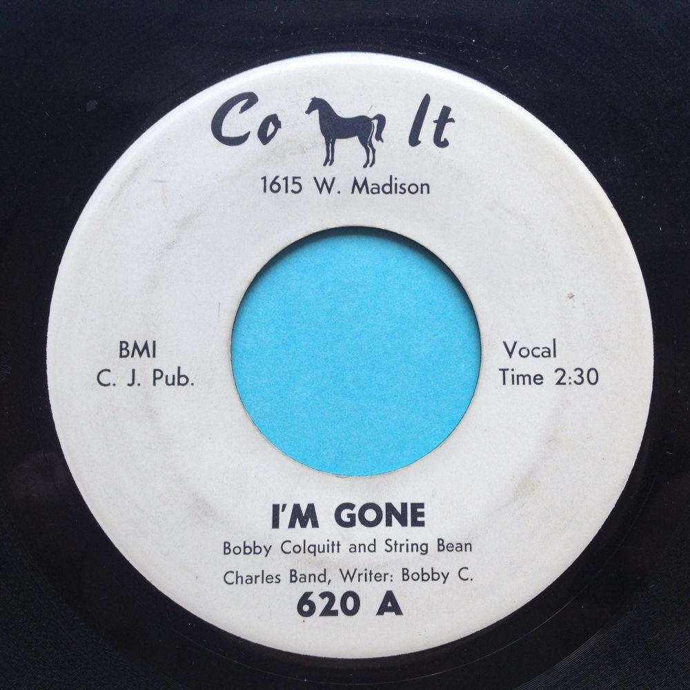 Bobby Colquitt - I'm gone / Million dollar play girl - Colt - Ex