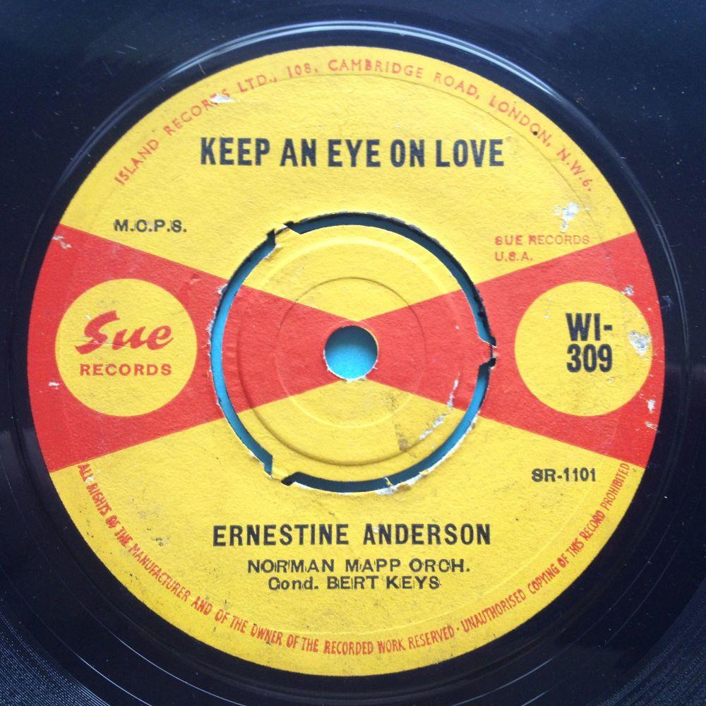 Ernestine Anderson - Keep an eye on love - UK Sue - Ex