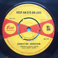 Ernestine Anderson - Keep an eye on love - UK Sue - Ex-