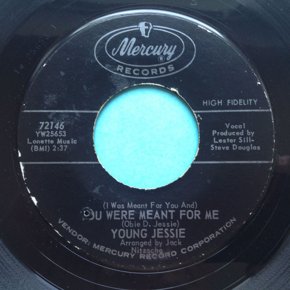 Young Jessie - You were meant for me - Mercury - Ex