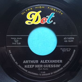Arthur Alexander - Keep her guessing - Dot - Ex