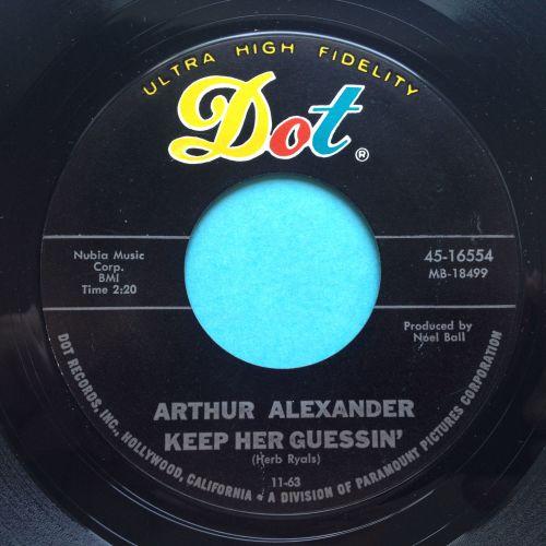 Arthur Alexander - Keep her guessing - Dot - Ex