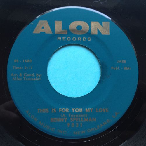 Benny Spellman - This is for you my love - Ex