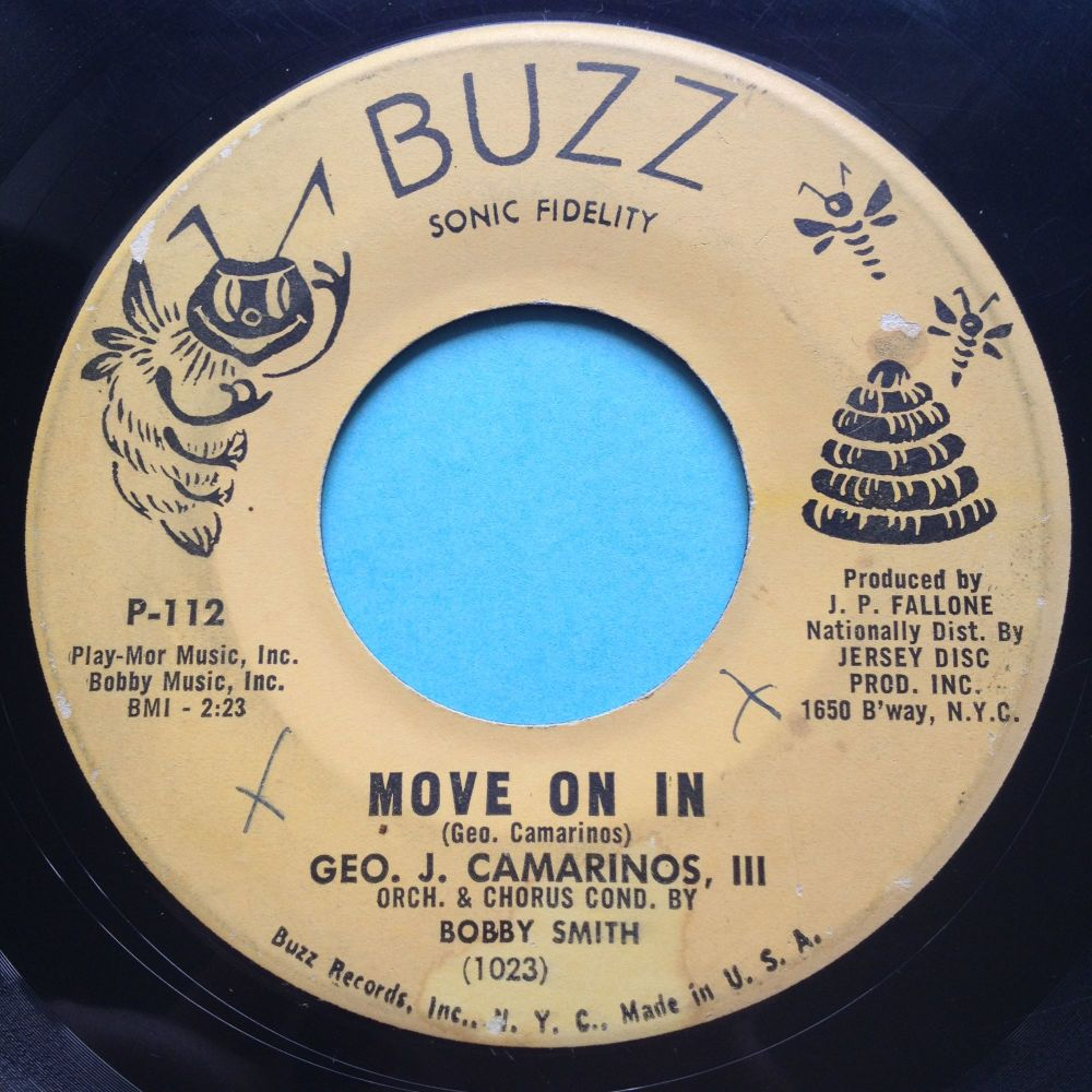 Geo Camarinos - Move on in - Buzz - strong VG