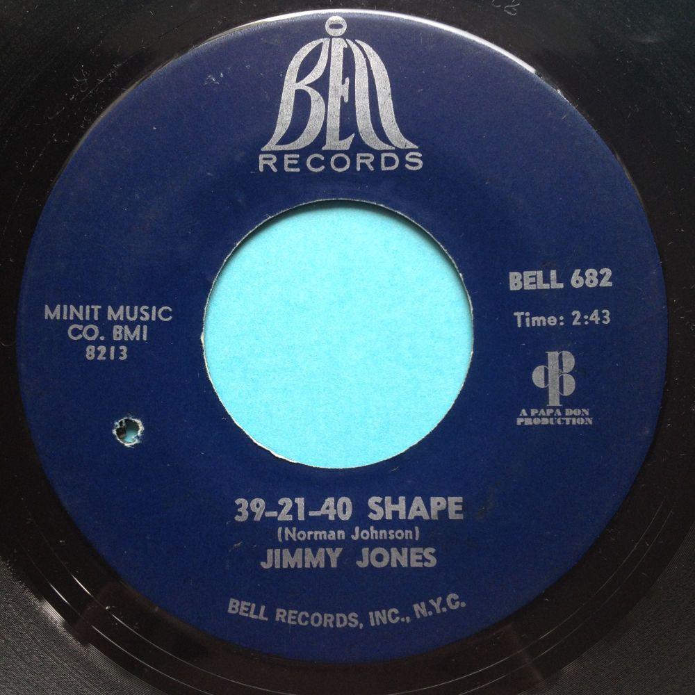 Jimmy Jones - 39-21-40 shape - Bell - Ex-