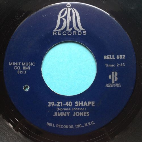 Jimmy Jones - 39-21-40 shape - Bell - Ex-