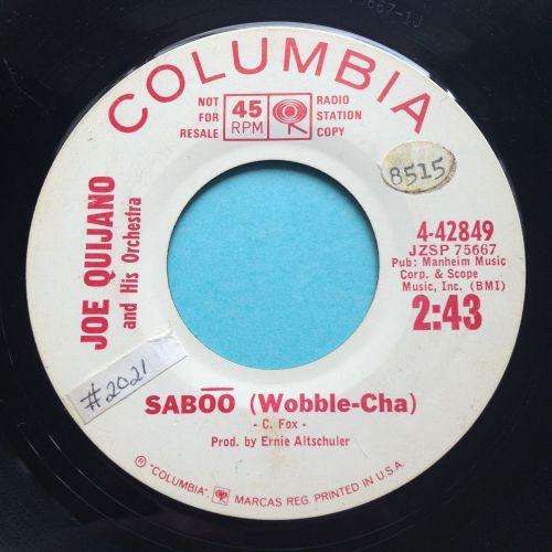 Joe Quijano - Saboo - Columbia promo - VG+