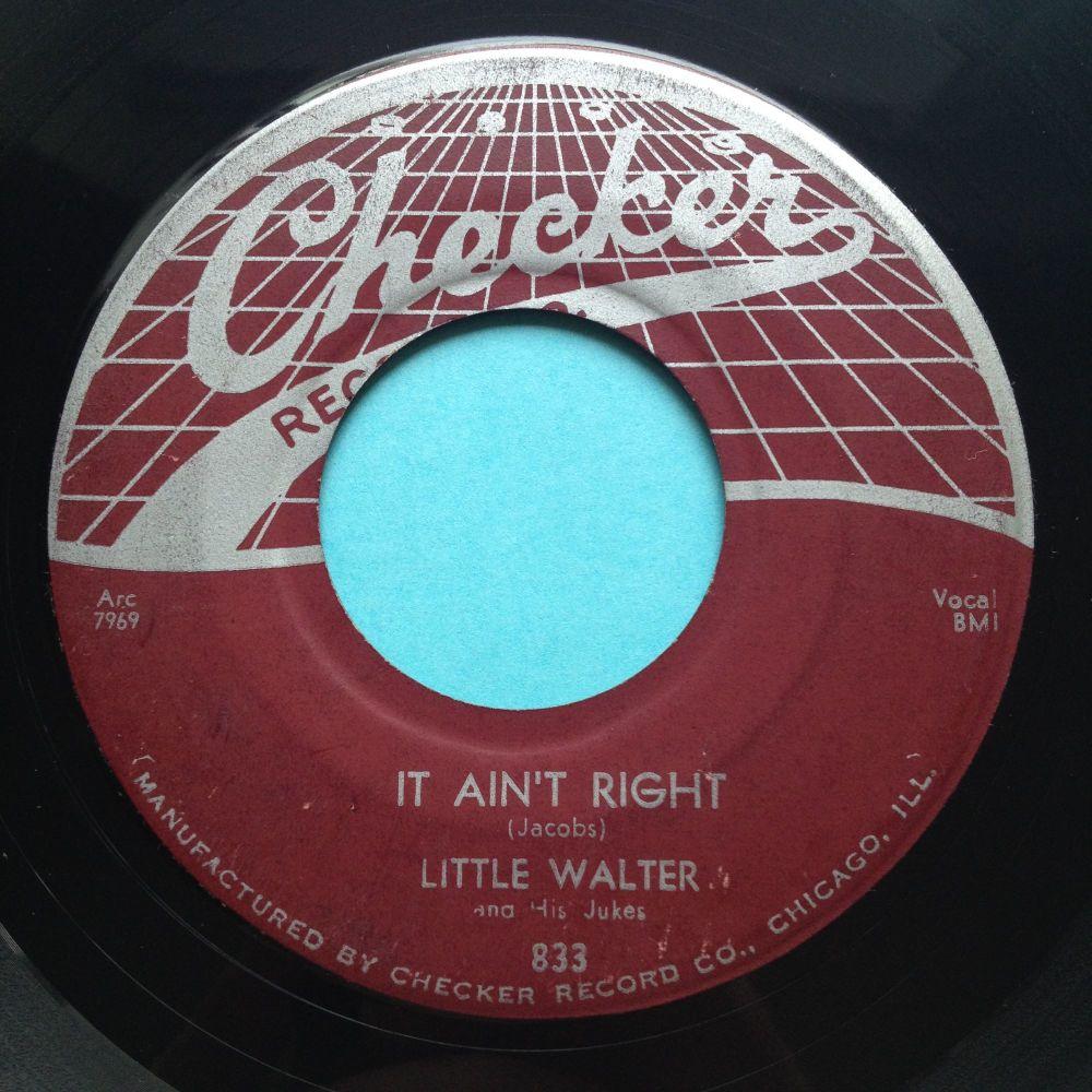 Little Walter - It ain't right - Checker - Ex