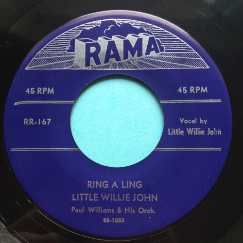 Little Willie John - Ring a ling - Rama - Ex-