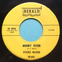 Sticks McGee - Money Fever - Herald - Ex