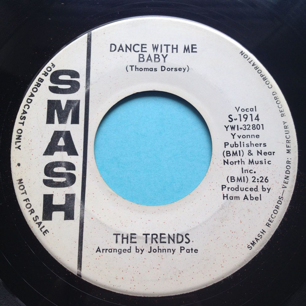 Trends - Dance with me baby - Smash promo - VG+