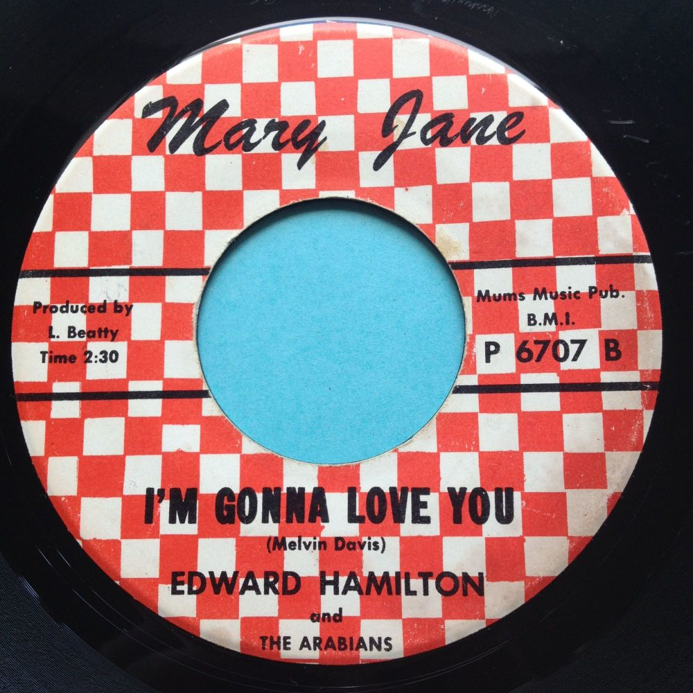 Edward Hamilton - I'm gonna love you - Mary Jane - Ex