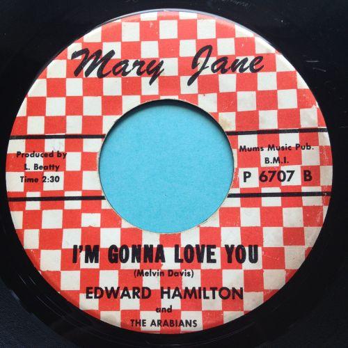 Edward Hamilton - I'm gonna love you - Mary Jane - Ex