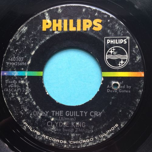 Clydie King - Only the guilty cry - Philips - VG+