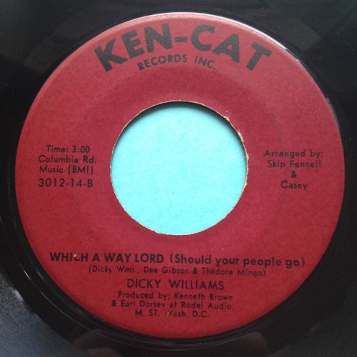 Dicky Williams - Which a way lord - Ken-Cat - Ex