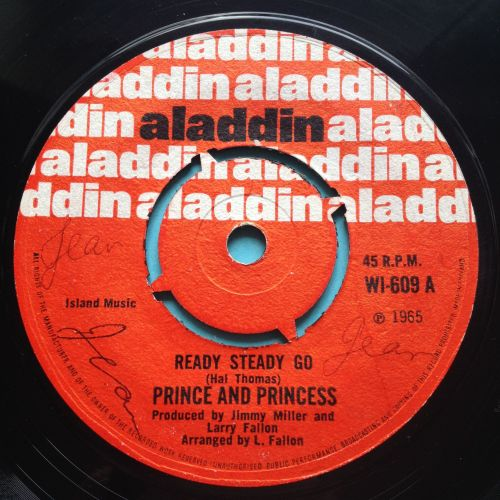 Prince and Princess - Ready Steady Go - Aladdin - Ex