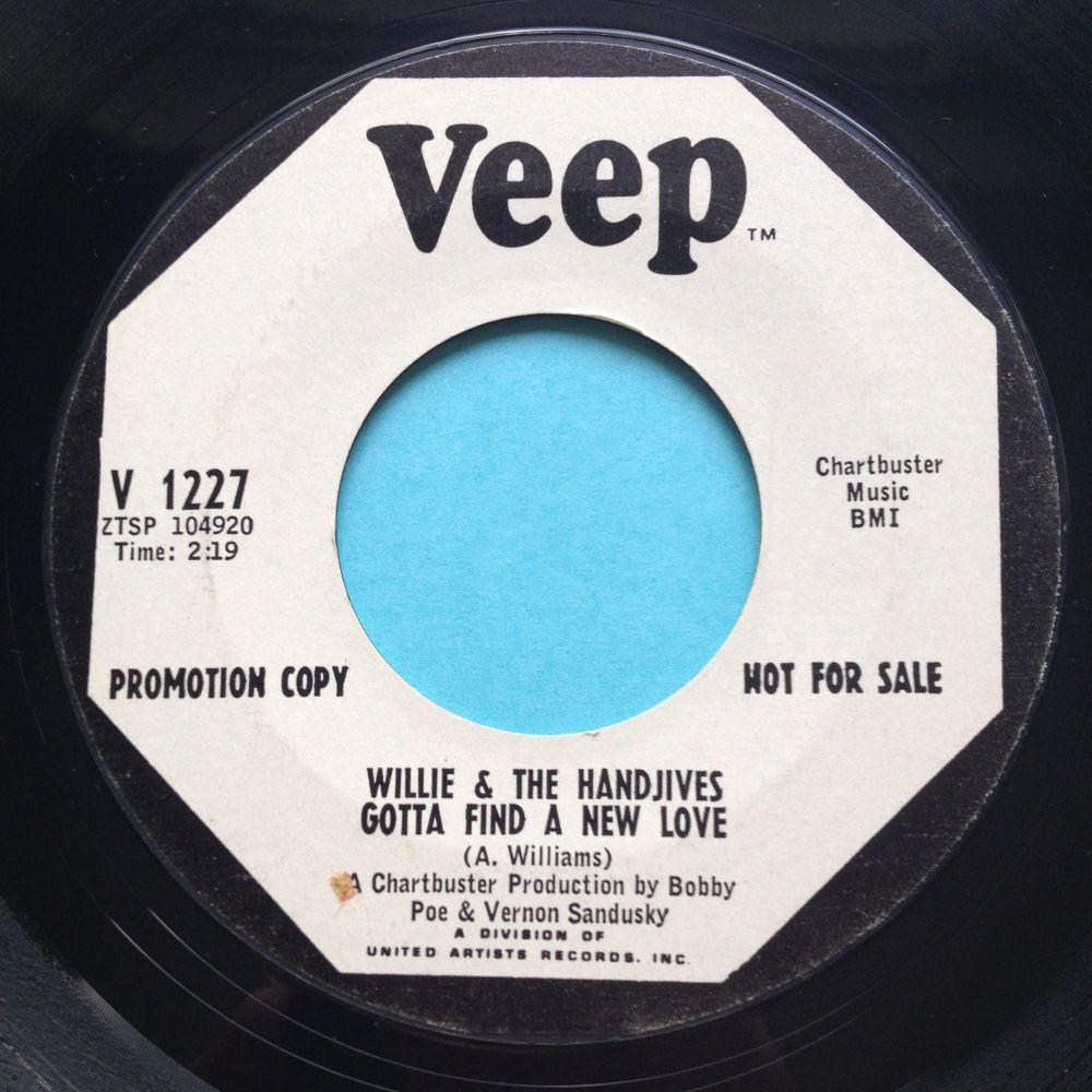 Willie & The Handjives - Gotta find a new love - Veep promo - Ex-