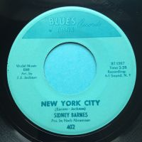 Sidney Barnes - New York City b/w Talkin' 'bout a shindig - Blues Tone - Ex