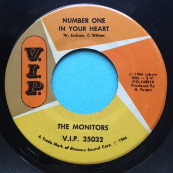 Monitors - Number one in your heart - V.I.P. - Ex